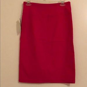 Forever Young Pink Stretch Pencil Skirt Size Large